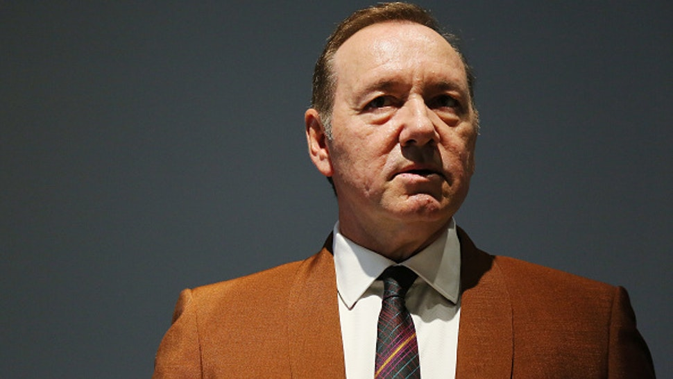 """ROME, ITALY - AUGUST 02: Actor Kevin Spacey attends the reading of the event """"The Boxer - La nostalgia del poeta"""" (The Boxer - The nostalgia of the poet) at Palazzo Massimo alle Terme on August 02, 2019 in Rome, Italy."""
