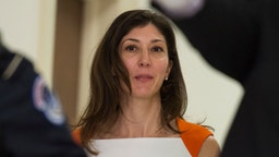 Lisa Page, former legal counsel to former FBI Director Andrew Mc Cabe, arrives on Capitol Hill July 16, 2018 arrives to speak before the House Judiciary and Oversight Committee on Capitol Hill in Washington, DC. - Republicans accuse the pair, Lisa Page and FBI agent Peter Strzok, of deep anti-Trump bias as they helped conduct investigations of both Hillary Clinton and the candidate who would eventually become the US president. (Photo by ANDREW CABALLERO-REYNOLDS / AFP) (Photo credit should read ANDREW CABALLERO-REYNOLDS/AFP via Getty Images)