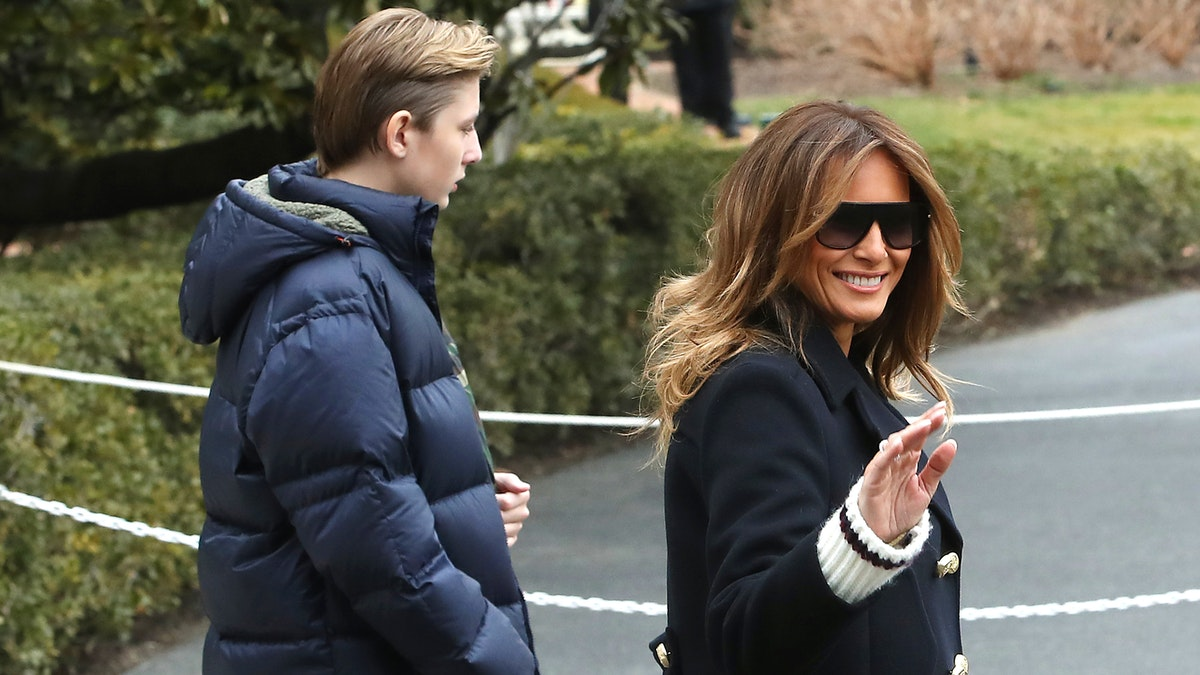Leftists Viciously Attack Melania For Defending Son: 'Eat S**t,' 'F**king Trash,' 'Shut The F**k Up'