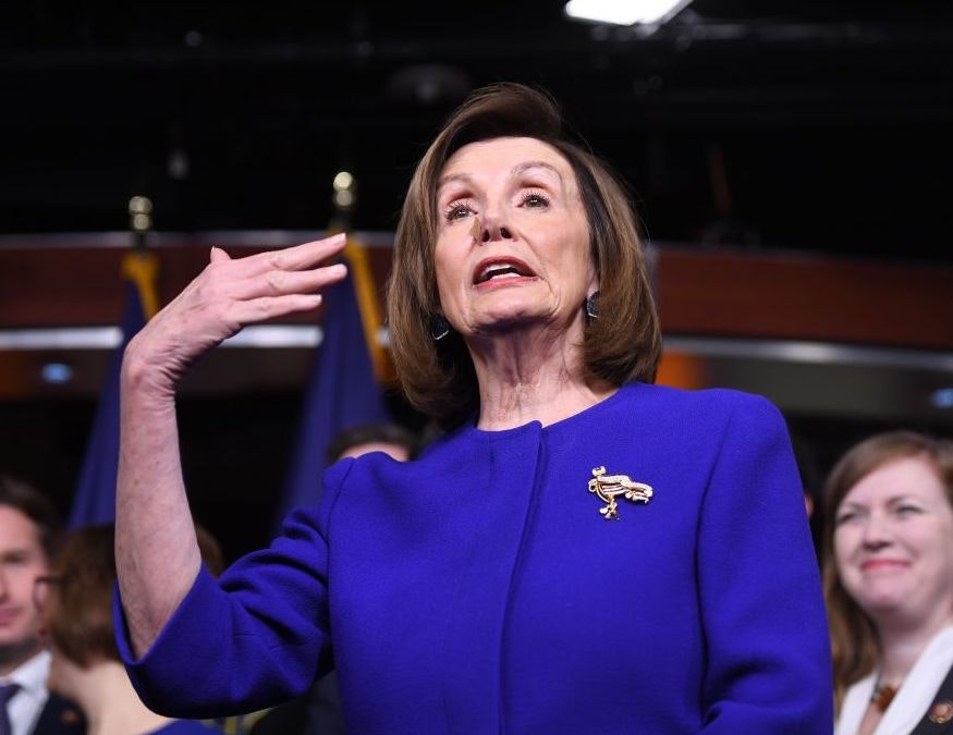 KNOWLES: Nancy Pelosi Says Impeachment Isn't About Politics. She's Lying.