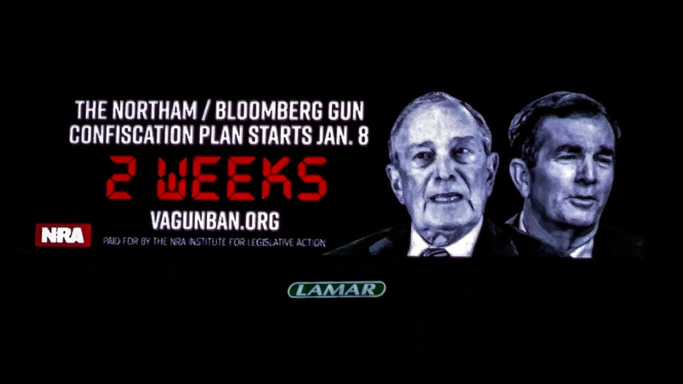 NRA Gun Billboard
