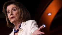 U.S. Speaker of the House Rep. Nancy Pelosi (D-CA) speaks during her weekly news conference December 5, 2019 on Capitol Hill in Washington, DC. Speaker Pelosi discussed the impeachment inquiry against President Donald Trump. (Photo by Alex Wong/Getty Images)