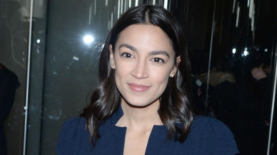"NEW YORK, NEW YORK - DECEMBER 7: Alexandria Ocasio-Cortez attends ""Little Women"" World Premiere on December 7, 2019 at Museum of Modern Art in New York City."
