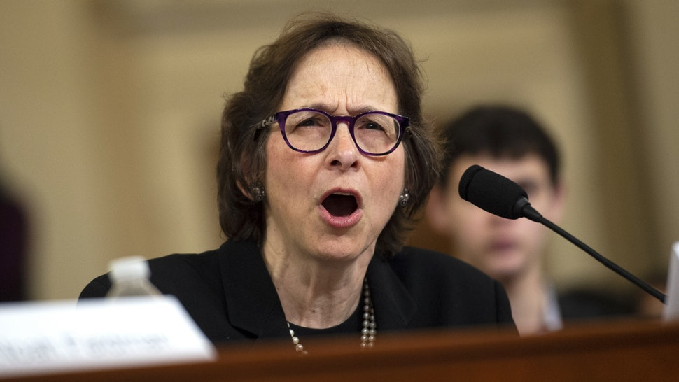 Stanford Law School professor Pamela Karlan testifies during the House Judiciary Committee hearing on the impeachment inquiry of President Trump in Longworth Building on Wednesday Dec. 4, 2019.