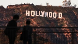 LOS ANGELES, USA - JANUARY 25, 2019: A view of the Hollywood Sign on the Hollywood Hills. Valery Sharifulin/TASS