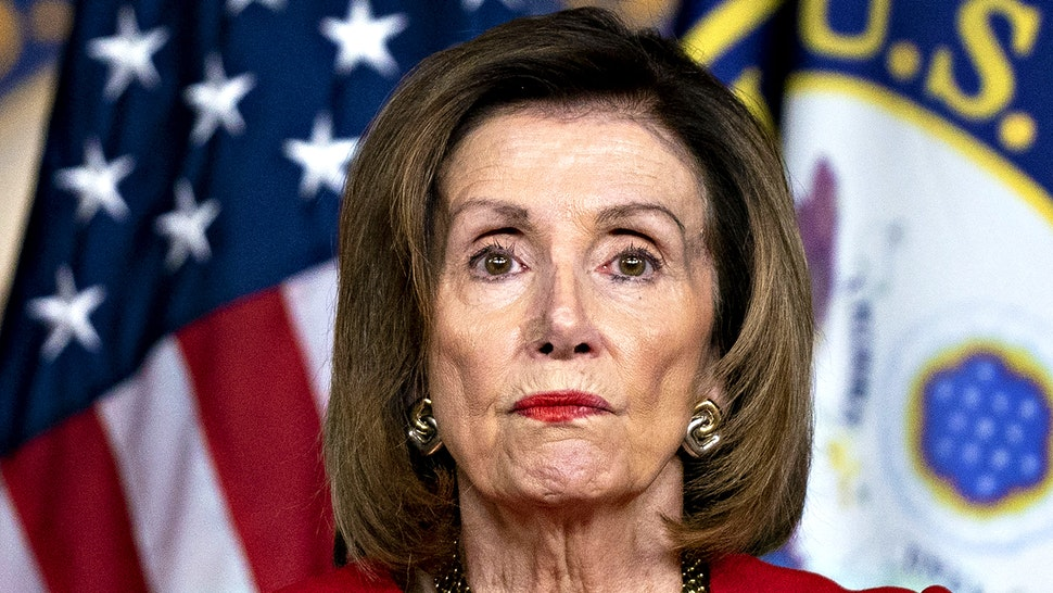 U.S. House Speaker Nancy Pelosi, a Democrat from California, pauses while speaking during a news conference on Capitol Hill in Washington, D.C., U.S., on Thursday, Dec. 19, 2019. Pelosi's carefully scripted impeachment of Donald Trump took an unexpected turn an hour after she banged the gavel Wednesday night, as she opened the door to stalling a Senate trial on whether the president should be removed from office.