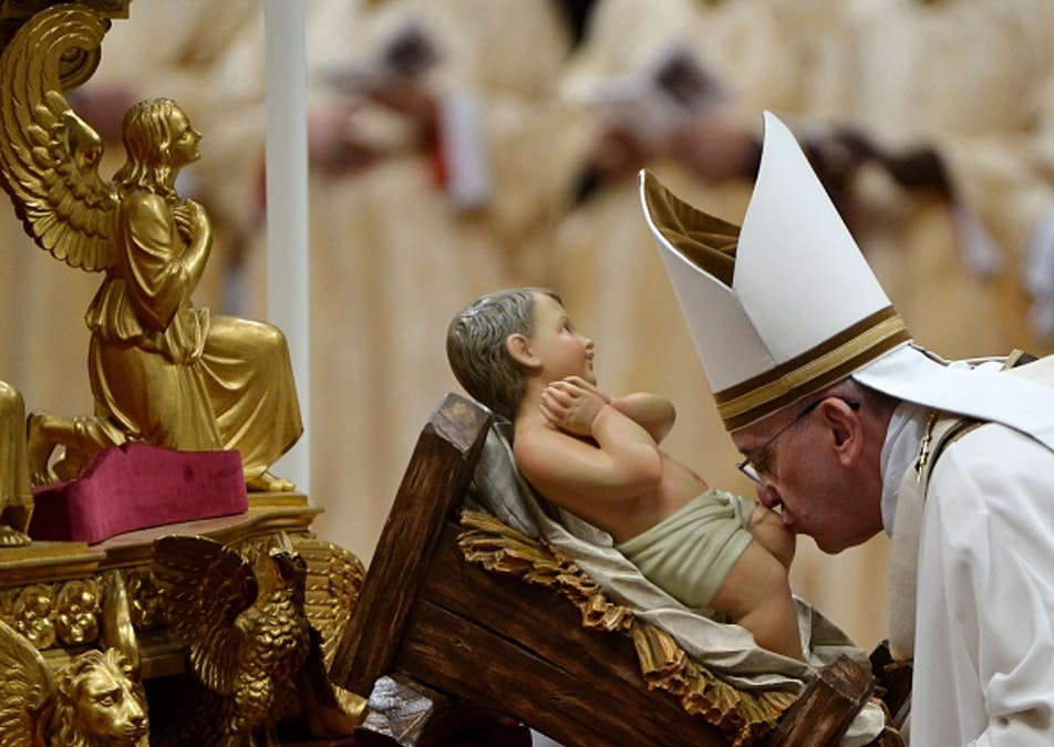 Pope Francis Encourages Nativity Scenes In Town Squares, Schools