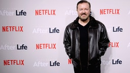 """NEW YORK, NEW YORK - MARCH 07: Comedian Ricky Gervais attends the """"After Life"""" For Your Consideration Event at Paley Center For Media on March 07, 2019 in New York City."""