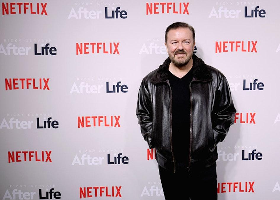 Ricky Gervais Trolls Transgender Activist Jessica Yaniv For Targeting Gynecologists