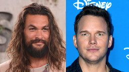 """Jason Momoa arrives for the World Premiere Of Apple TV+'s """"See"""" held at Fox Village Theater on October 21, 2019 in Los Angeles, California. //Chris Pratt attends Go Behind The Scenes with Walt Disney Studios during D23 Expo 2019 at Anaheim Convention Center on August 24, 2019 in Anaheim, California."""