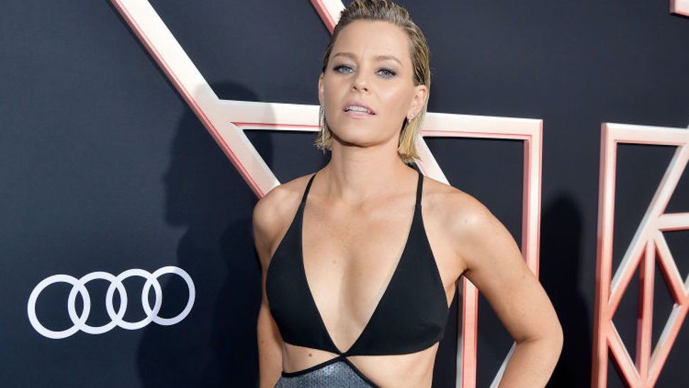 """Elizabeth Banks attends Audi Arrivals At The World Premiere Of """"Charlie's Angels"""" on November 11, 2019 in Los Angeles, California."""