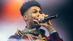 Blueface performs at O2 Academy Brixton on November 20, 2019 in London, England.