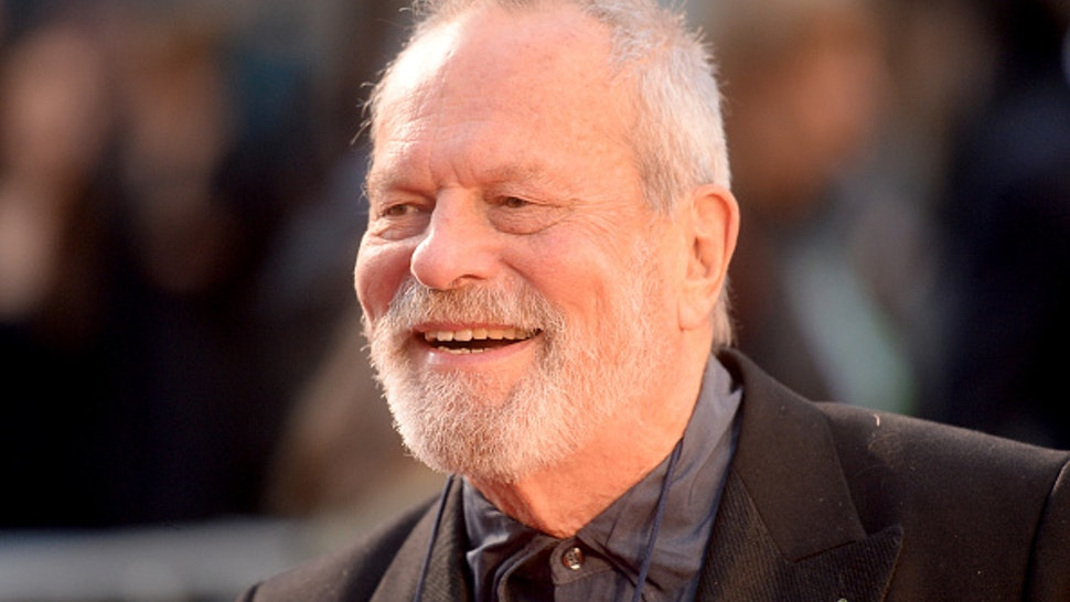 """LONDON, ENGLAND - OCTOBER 13: Terry Gilliam attends """"The Irishman"""" International Premiere and Closing Gala during the 63rd BFI London Film Festival at the Odeon Luxe Leicester Square on October 13, 2019 in London, England."""