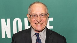 "NEW YORK, NY, UNITED STATES - 2018/07/11: Alan Dershowitz promoting his newest book, ""The Case Against Impeaching Trump"", at the Barnes & Noble in Union Square in New York City."