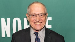 """NEW YORK, NY, UNITED STATES - 2018/07/11: Alan Dershowitz promoting his newest book, """"The Case Against Impeaching Trump"""", at the Barnes & Noble in Union Square in New York City."""