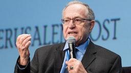 UNITED STATES - 2017/05/07: Alan Dershowitz, Felix Frankfurter Professor of Law Emeritus at Harvard, at the Jerusalem Post Annual Conference in New York City.