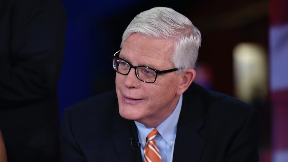 "Hugh Hewitt, Host, The Hugh Hewitt Show appears on ""Meet the Press"" in Cleveland, OH, Sunday July 17, 2016."