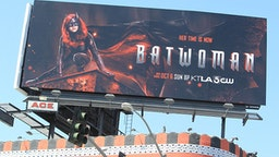 LOS ANGELES, CA - SEPTEMBER 11: Batwoman Billboard is seen on September 11, 2019 in Los Angeles.