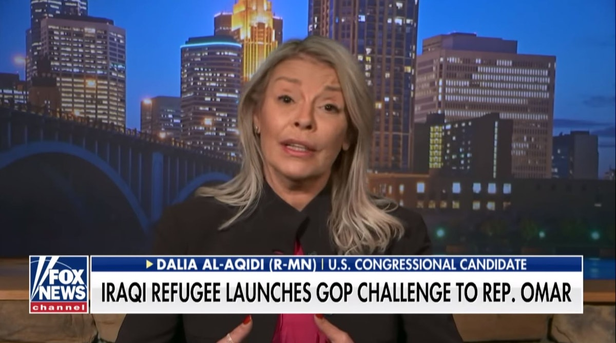 Iraqi Refugee Challenging Omar: Omar Doing 'Irreparable Harm' To U.S. With 'Hatred, Racism'