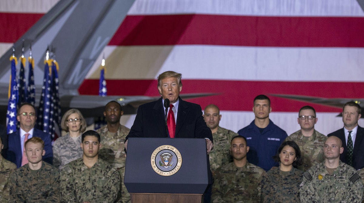 Trump Deploys More Troops To Mideast After Embassy Attack