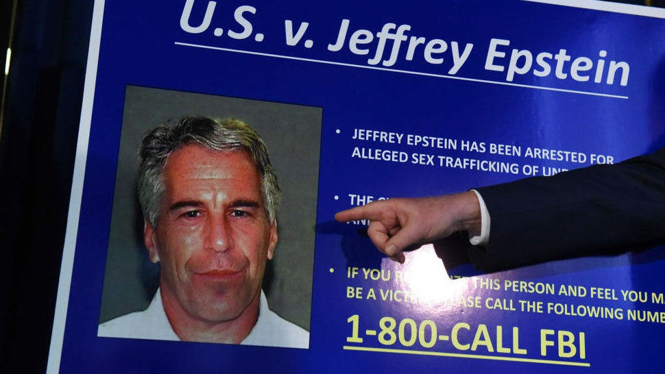 NEW YORK, NY - JULY 08: US Attorney for the Southern District of New York Geoffrey Berman announces charges against Jeffery Epstein on July 8, 2019 in New York City. Epstein will be charged with one count of sex trafficking of minors and one count of conspiracy to engage in sex trafficking of minors.
