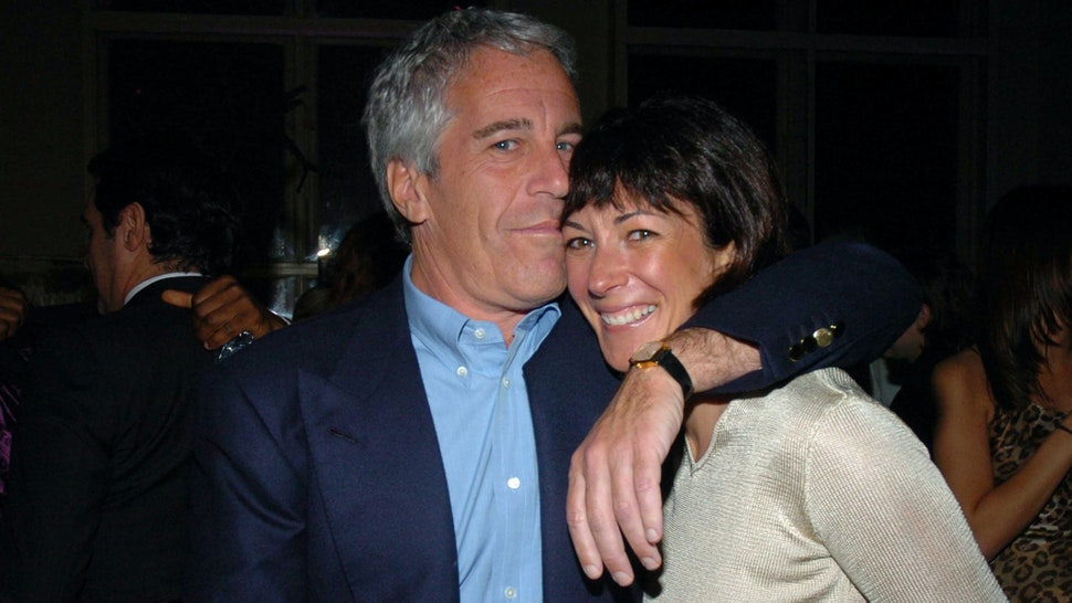 NEW YORK CITY, NY - MARCH 15: Jeffrey Epstein and Ghislaine Maxwell attend de Grisogono Sponsors The 2005 Wall Street Concert Series Benefitting Wall Street Rising, with a Performance by Rod Stewart at Cipriani Wall Street on March 15, 2005 in New York City.