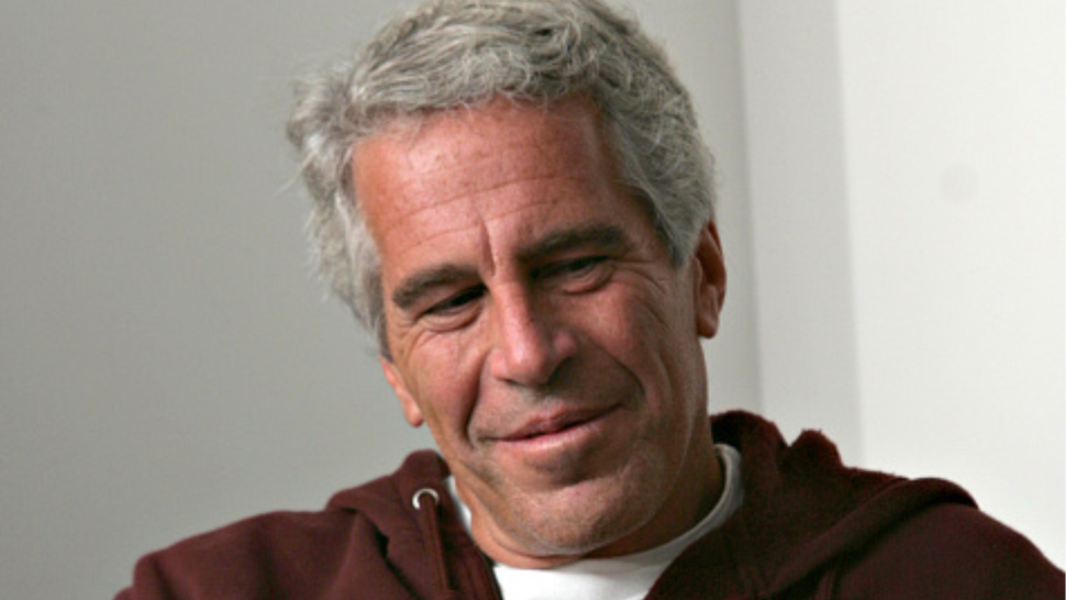 Billionaire Jeffrey Epstein in Cambridge, MA on 9/8/04. Epstein is connected with several prominent people including politicians, actors and academics. Epstein was convicted of having sex with an underaged woman.