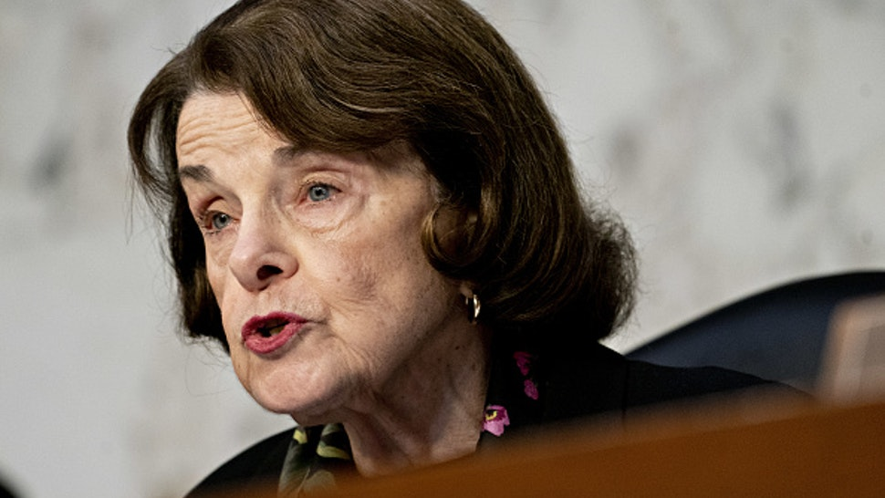 Senator Diane Feinstein, a Democrat from California and ranking member of the Senate Judiciary Committee, makes an opening statement during a hearing with Justice Department Inspector General Michael Horowitz, not pictured, in Washington, D.C., U.S., on Wednesday, Dec. 11, 2019. Horowitz released a long-anticipated report Monday into the FBI's investigation in 2016 of people associated with Donald Trump's presidential campaign.
