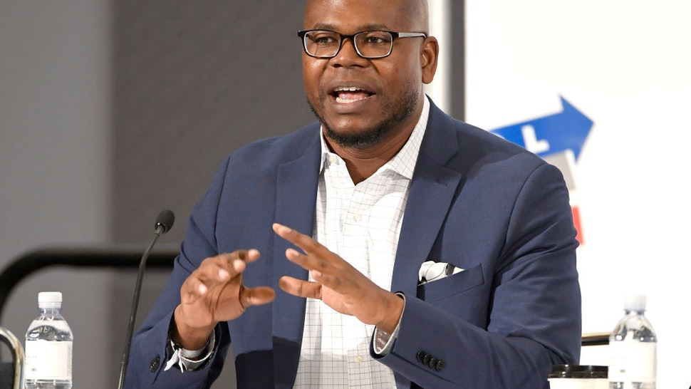 Jason Johnson speaks onstage Politicon 2018 at Los Angeles Convention Center on October 20, 2018 in Los Angeles, California