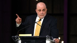 Inductee Mark Levin speaks on stage during Radio Hall Of Fame 2018 Induction Ceremony at Guastavino's on November 15, 2018 in New York City.
