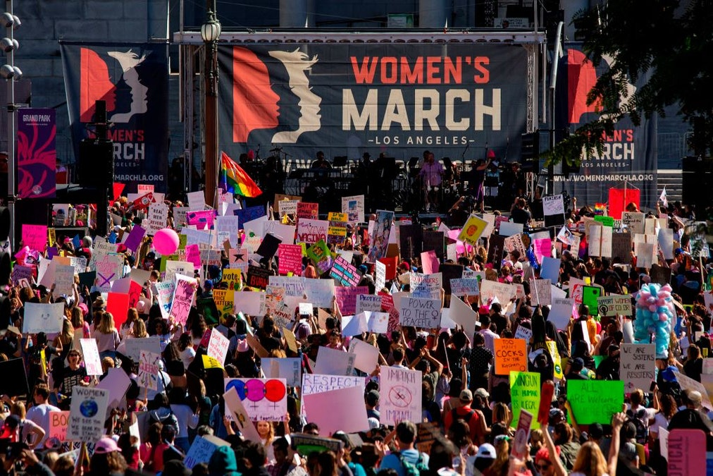 Black Lives Matter Says It Was Snubbed By Women's March L.A.