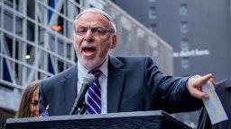 Assemblyman Dov Hikind - Jewish organizations held a protest
