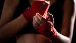 woman MMA