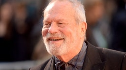 """Terry Gilliam attends """"The Irishman"""" International Premiere and Closing Gala during the 63rd BFI London Film Festival at the Odeon Luxe Leicester Square on October 13, 2019 in London, England."""