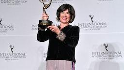 Christiane Amanpour winner of Directorate Award during the 2019 International Emmy Awards Gala on November 25, 2019 in New York City.