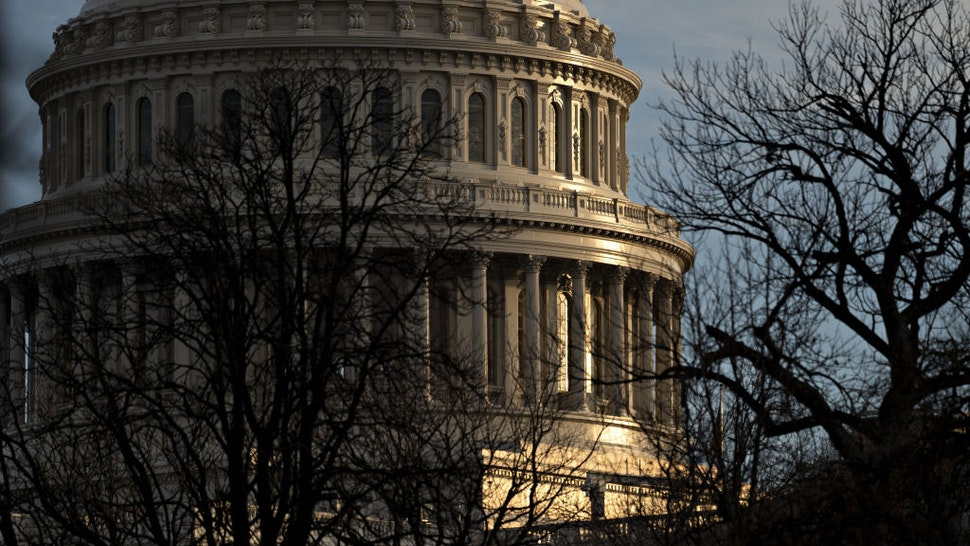 The U.S. Capitol stands in Washington, D.C., U.S., on Thursday, Jan. 2, 2020. House Speaker Nancy Pelosi and Senate Majority Leader Mitch McConnell are locked in a stare-down over the terms of President Donald Trump's impeachment trial, which carries political risks for both sides if it continues deeper into January.