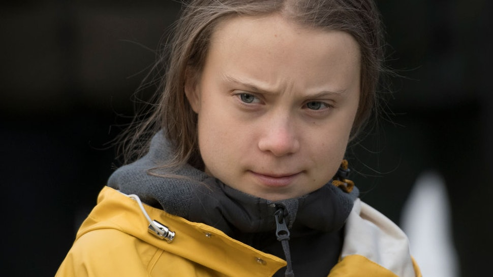 Greta Thunberg Attends Fridays For Future Strike In Turin on December 13, 2019 in Turin, Italy.