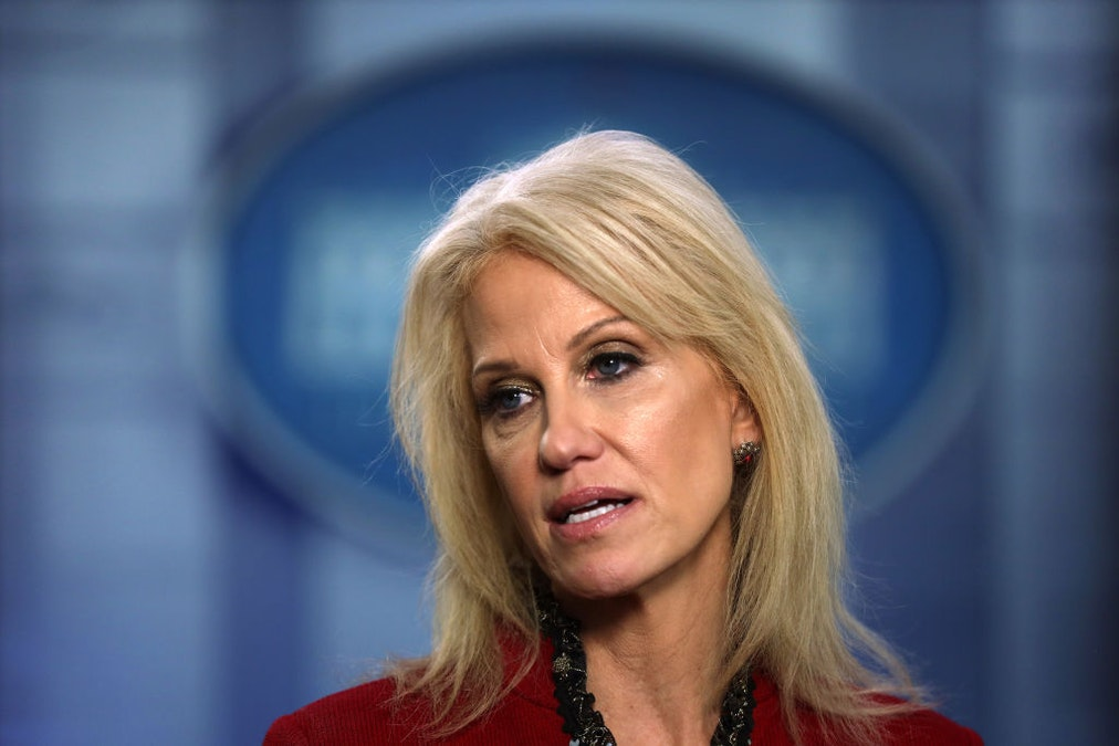 Feminist And Failed Democratic Candidate Body Shames Kellyanne Conway In Side-By-Side Photo