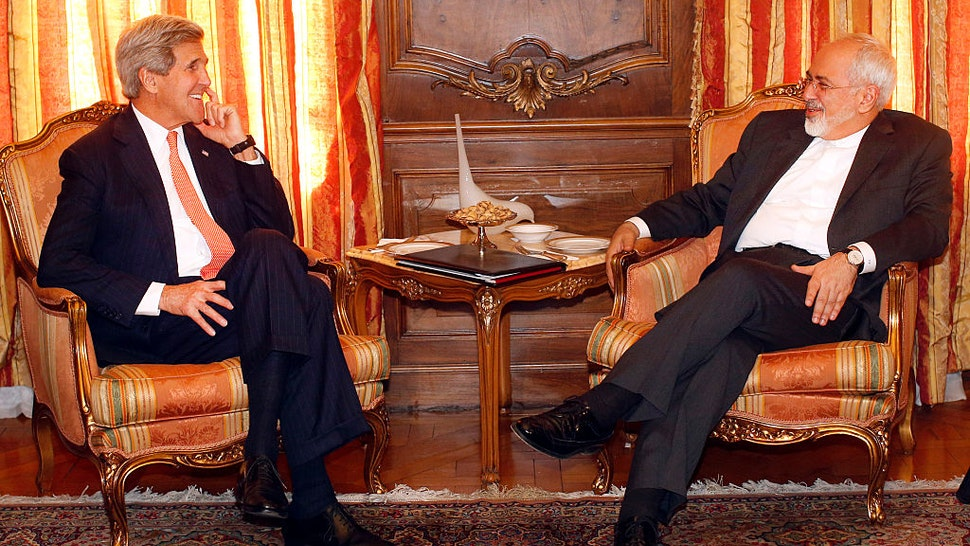 John Kerry with Javad Zarif
