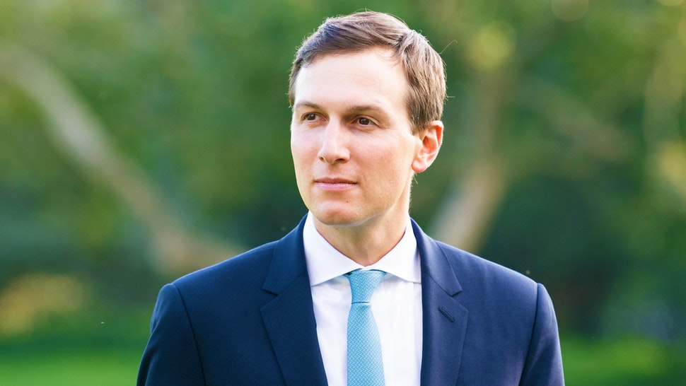 WASHINGTON, DC, UNITED STATES - 2018/10/08: Jared Kushner, Senior Advisor to the President of the United States seen posing for a picture during the South Lawn of the White House in Washington, DC.