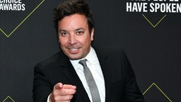 Jimmy Fallon arrives to the 2019 E! People's Choice Awards held at the Barker Hangar on November 10, 2019 -- NUP_188989 (Photo by: Amy Sussman/E! Entertainment/NBCU Photo Bank)