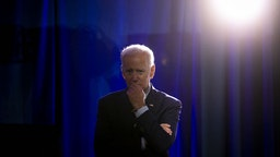 Former U.S. Vice President Joe Biden, 2020 Democratic presidential candidate, listens during the Planned Parenthood Action Fund (PPAF) We Decide 2020 Election Membership Forum in Columbia, South Carolina, U.S., on Saturday, June 22, 2019. Monday, January 20, 2020, marks the third anniversary of U.S. President Donald Trump's inauguration. Our editors select the best archive images looking back over Trump's term in office. Photographer: Al Drago/Bloomberg