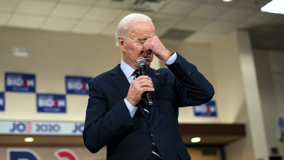 AMES, IA - JANUARY 21: Democratic presidential candidate, former Vice President Joe Biden speaks during an event on January 21, 2020 in Ames, Iowa. With less than two weeks to go until the Iowa caucus, the candidates are making their case to voters in the state of the first 2020 primary.