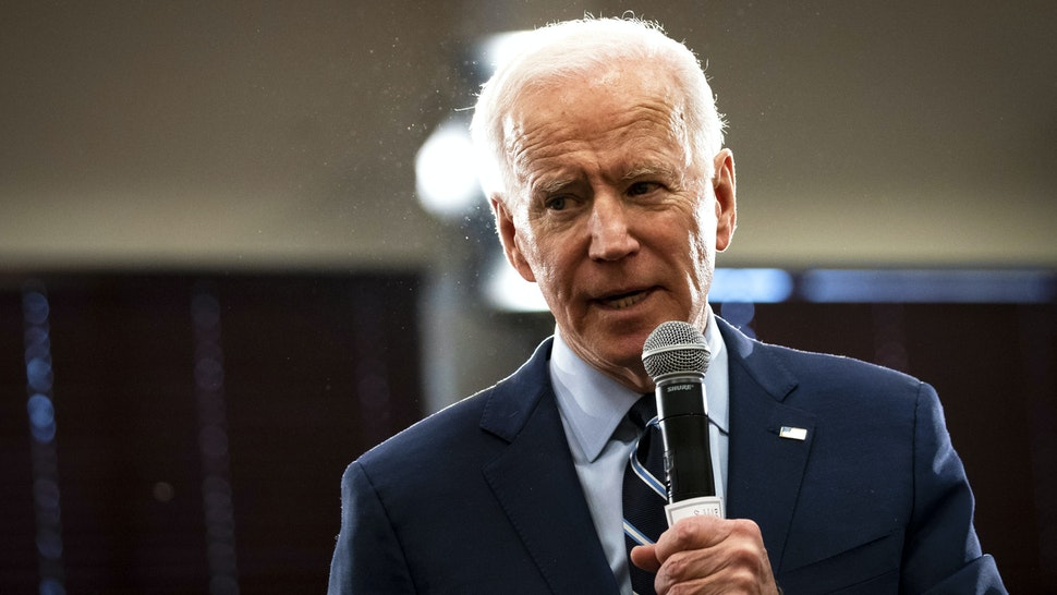 AMES, IA - JANUARY 21: Democratic presidential candidate former Vice President Joe Biden speaks during an event on January 21, 2020 in Ames, Iowa. With less than two weeks to go until the first-in-the-nation Iowa caucuses, candidates are making their final pitch to voters.