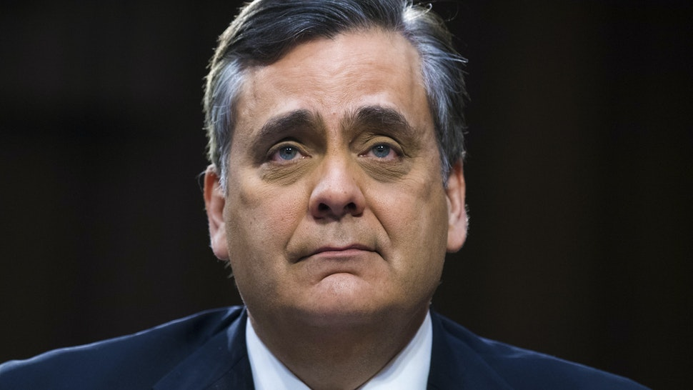 UNITED STATES - JANUARY 16: Jonathan Turley, a professor at George Washington University Law School, attends a Senate Judiciary Committee confirmation hearing for William P. Barr, nominee for attorney general, in Hart Building on Wednesday, January 16, 2019.