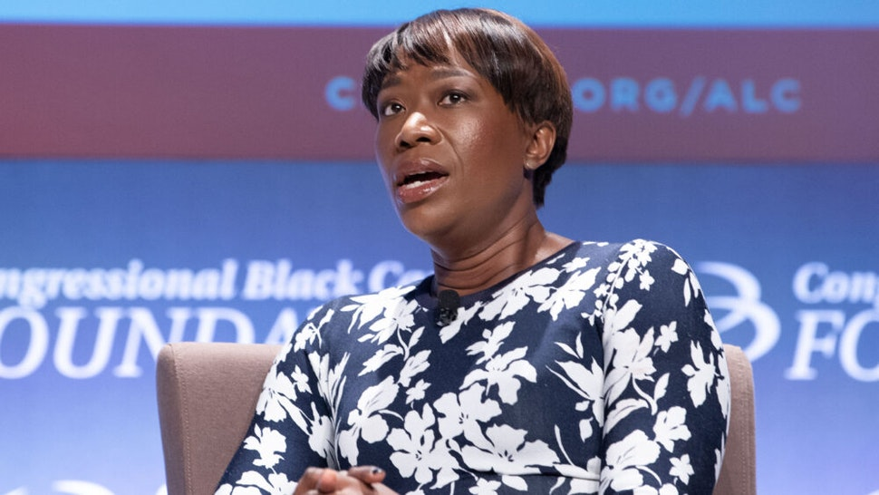 WASHINGTON, DC - SEPTEMBER 13: Joy Reid attends the National Town Hall on the second day of the 48th Annual Congressional Black Caucus Foundation on September 13, 2018 in Washington, DC.