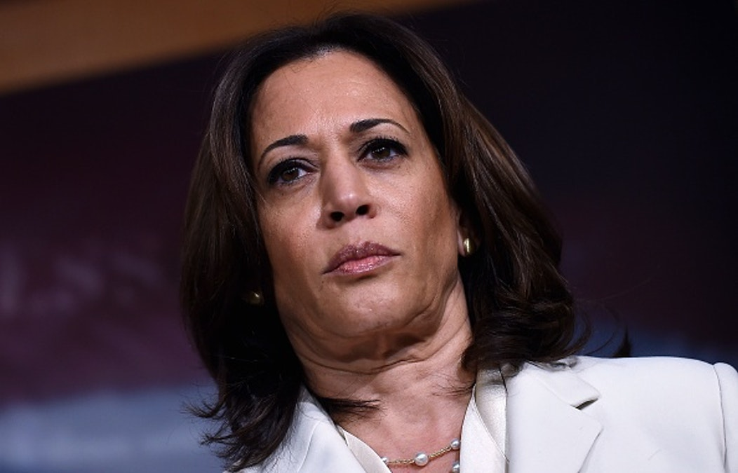 WATCH: Kamala Harris Smiles Before Talking About 'Solemn, Serious' Impeachment