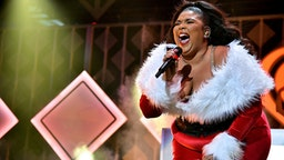 NEW YORK, NEW YORK - DECEMBER 13: Lizzo performs onstage during iHeartRadio's Z100 Jingle Ball 2019 Presented By Capital One on December 13, 2019 in New York City.