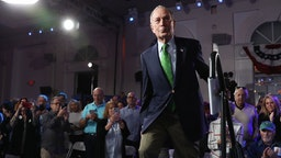 Democratic Presidential Candidate Mike Bloomberg Campaigns In Miami, Florida
