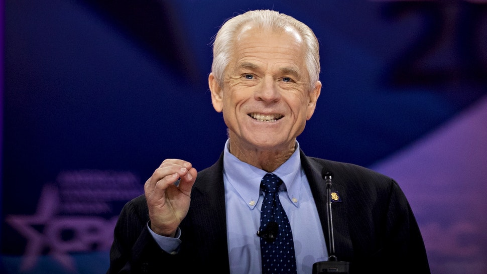 Peter Navarro, director of the National Trade Council, speaks during the Conservative Political Action Conference (CPAC) in National Harbor, Maryland, U.S., on Friday, March 1, 2019. President Trump will attend this year's Conservative Political Action Conference on his return from a summit with North Korea leader Kim Jong Un in Hanoi.